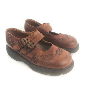 Dr Martens Mary Jane Platform Original Clogs 7